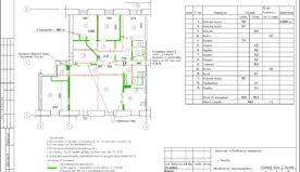 Схема проекта объединения квартир